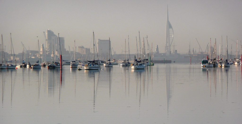 Corsi di inglese all'estero: Portsmouth. View from Portchester