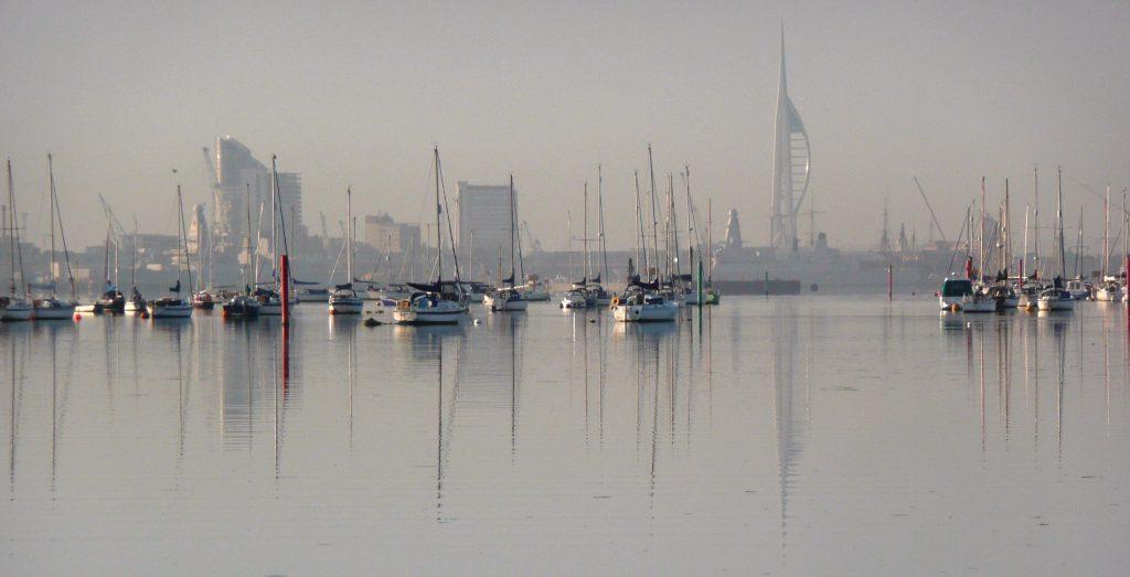 Corsi di inglese all'estero: Portsmouth. View from Portchester
