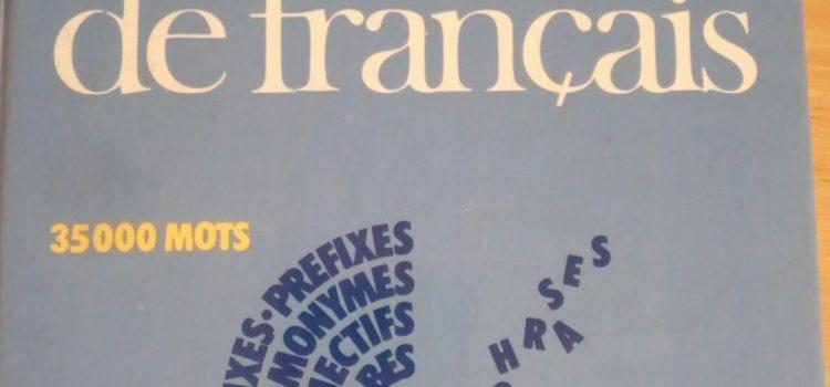 Quattro dizionari di francese a confronto