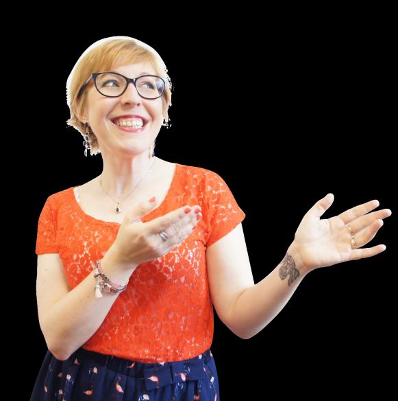 English lessons con Christina Rebuffet