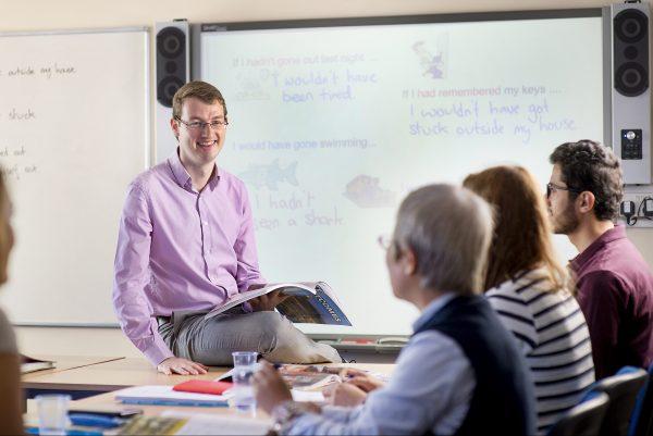 corsi di inglese all'estero per adulti p