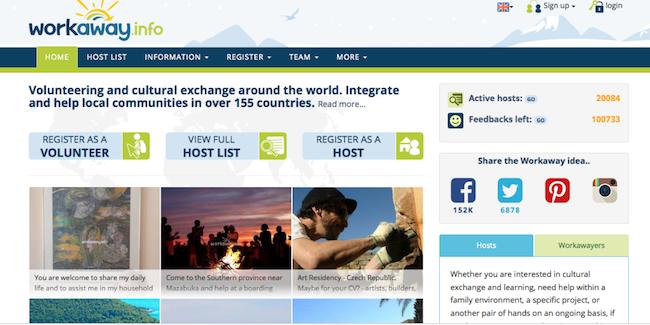 Workaway per imparare le lingue ospitando viaggiatori da tutto il mondo