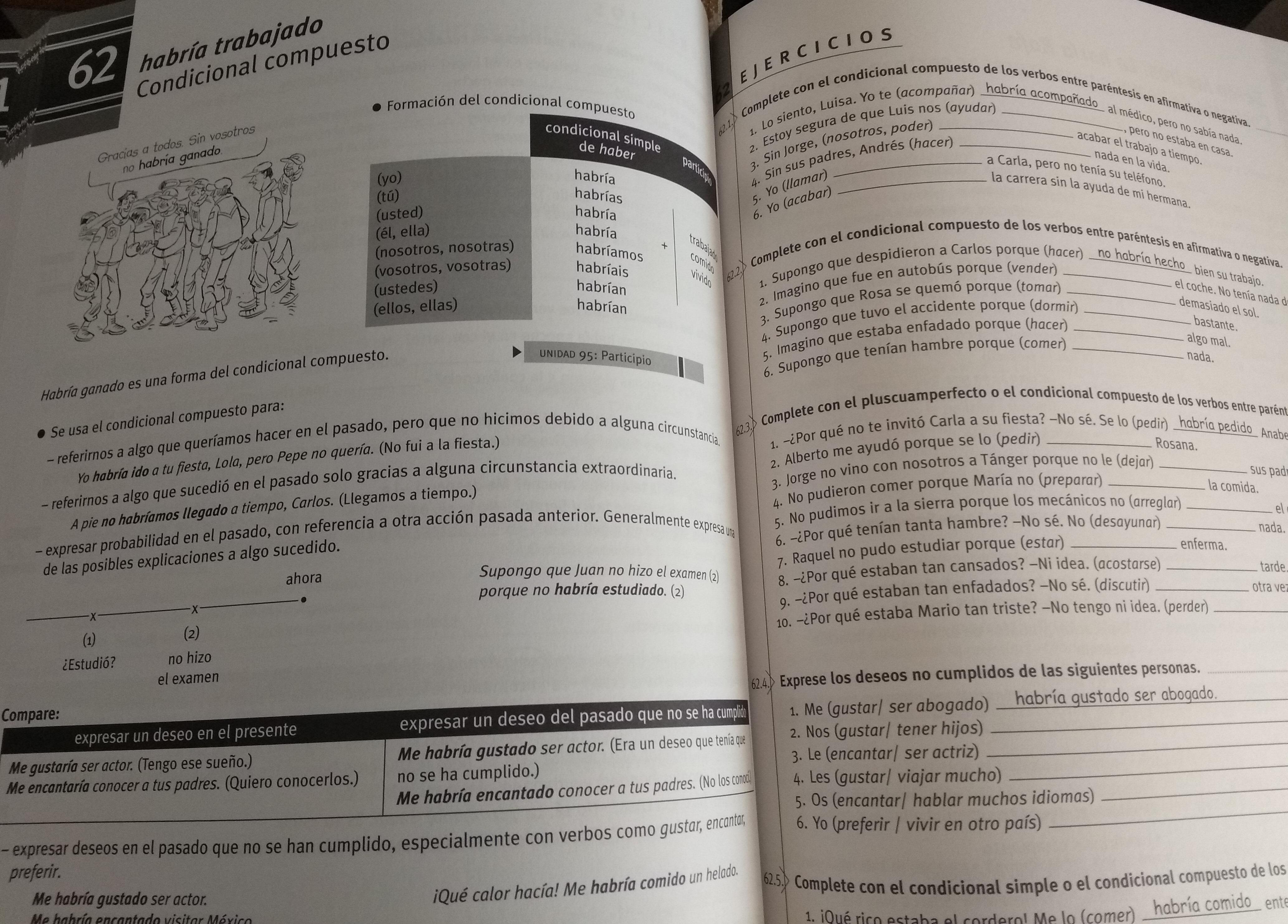 grammatica spagnola - esempio