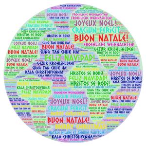Chiusura natalizia tradotta in 4 lingue