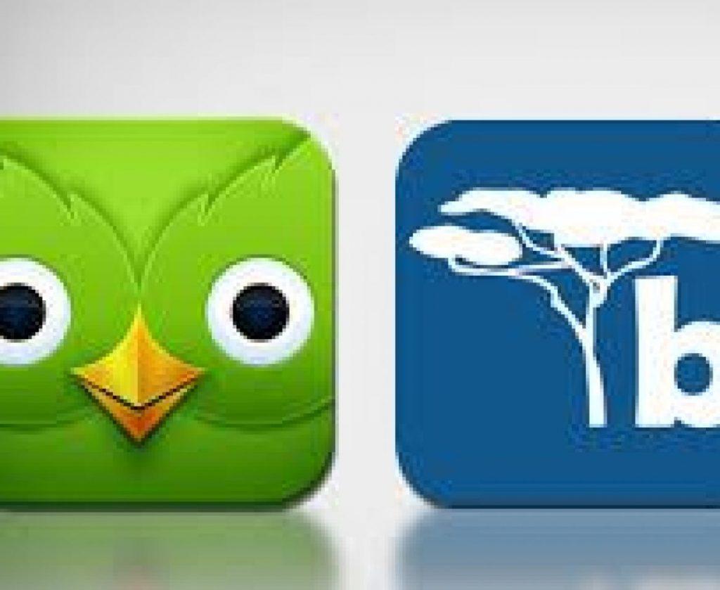 Duolingo and Busuu