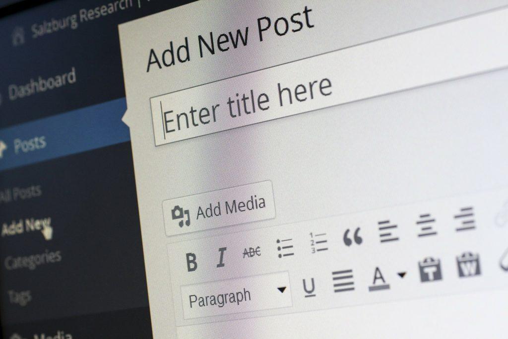 blog in inglese